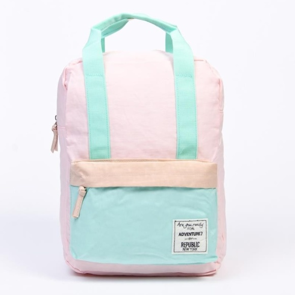e9c1ece04937 Handbags - NEW cute pastel color backpack